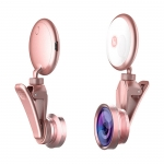 Lens with flash light for mobile phone