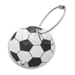 足球行李牌