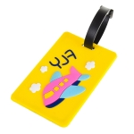 PVC Cartoon Luggage Tag Travel Accessories