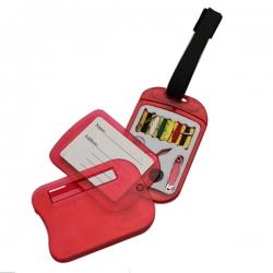 行李牌連針線盒