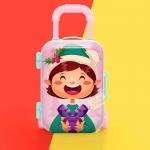 創意兒童玩具迷你拉桿箱