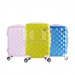 鑽石紋行李箱