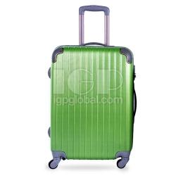 小條紋行李箱