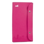 PVC Cross Pattern Passport Holder