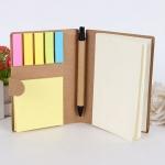 環保便利貼加筆組合記事本