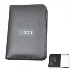 皮夾式計數機筆記本