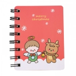 Simple style christmas A6 notebook