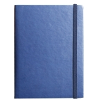 Elastic Band Leather Business Notebook