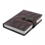Classical multi-functional notebook with lock