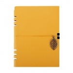 Leather band notebook