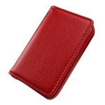 Magnetic Leather Card Case