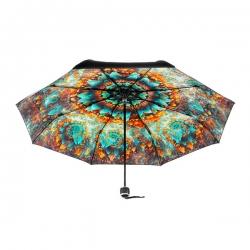 內層印花縮骨摺疊傘