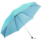 Pure Color Pattern Foldable Umbrella