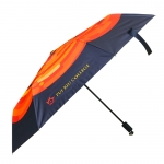 Portable sunshade vinyl folding umbrella