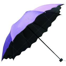 創意花邊縮骨摺疊雨傘
