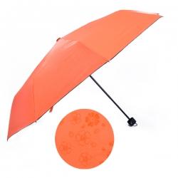 遇水開花縮骨黑膠傘
