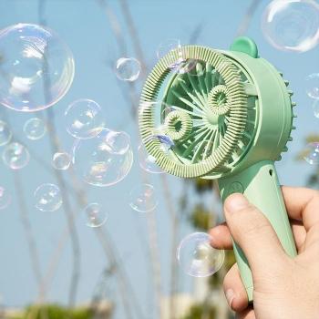 Mini bubble fan for kids