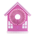 House Shaped Fan (LED Customizable )