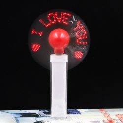 LED LOGO Customizable Power Bank Fan