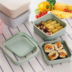 竹纖維方形餐盒