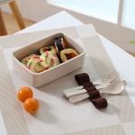 帶餐具竹纖維餐盒