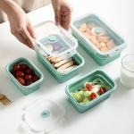 創意矽膠餐盒保鮮盒