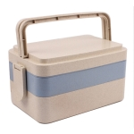 Wheat Three-layer Lunch Box
