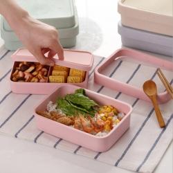環保竹纖維餐盒