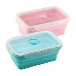 Creative Silicone Folding Lunch Box Crisper