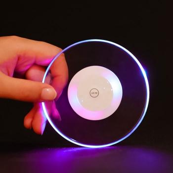 亞克力超薄LED發光杯墊