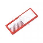 Portable comb mirror