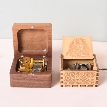 木質復古音樂盒