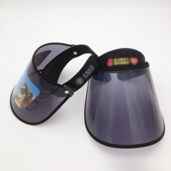 UV遮臉空頂太陽帽