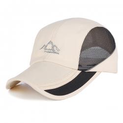 可摺疊透氣網帽