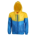 Contrast Color Windbreaker