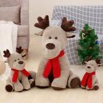 聖誕麋鹿毛絨公仔玩具
