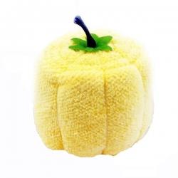 Pumpkin Compressed Towel