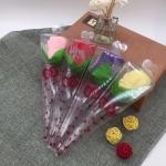毛巾玫瑰花