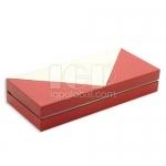 長方形拼色PU禮盒