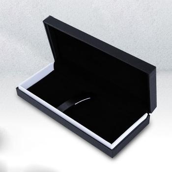 黑色高檔翻蓋筆盒