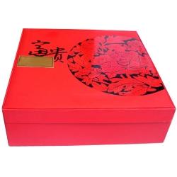富貴花金秋月餅禮盒