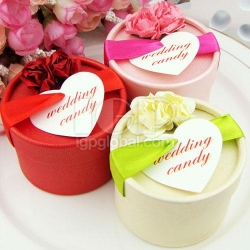 圓筒婚慶喜糖盒