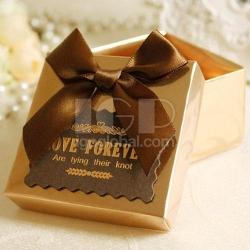 方形緞帶禮盒