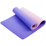 Double-layer Two-Color Yoga Mat