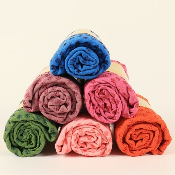 梅花狀瑜伽鋪巾