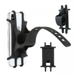 Silicone buckle phone holder for bike
