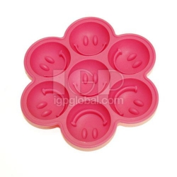 Smiling Silicone Ice Cube Tray