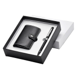 Matal Pen & Business Card Holder Set
