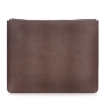 Brown A4 Document Pouch