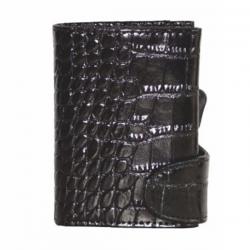 鱷魚紋防盜刷卡盒